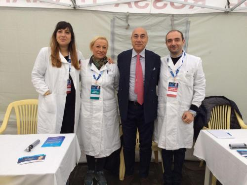 referente scientifico Treviso Prof. de Filippis con team